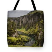 Iceland Valley Tote Bag