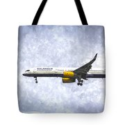 Icelandair Boeing 757 Art Tote Bag