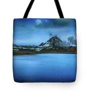 Icelandic Blue Tote Bag