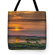 Icelandic Sunset Tote Bag