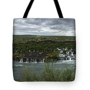 Icelandic Waterfall Tote Bag