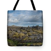 Icelands Mossy Volcanic Rock Tote Bag