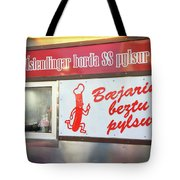 Iceland's World Famous Hot Dog Stand Iceland 2 3122018 J2328.jpg Tote Bag