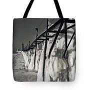 Icescape Tote Bag