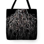 Icicle Chandelier Tote Bag