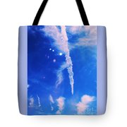 Icicle Clouds 1 Tote Bag