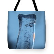 Icicle Reflections Tote Bag
