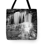 Icicles At Frozen Head Tote Bag