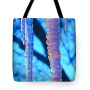 Icicles Four Tote Bag