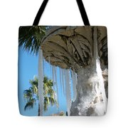 Icicles In A Palm Filled Sky Number 1 Tote Bag