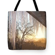 Icicles One Tote Bag