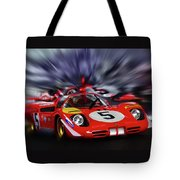 Ickx And Schetty Tote Bag
