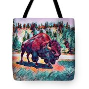Icon Of The West Tote Bag