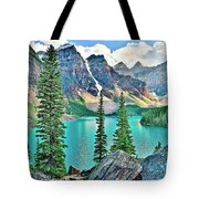 Iconic Banff National Park Attraction Tote Bag