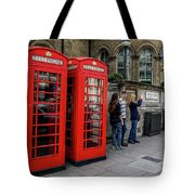 Iconic Booth Tote Bag