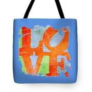 Iconic Love - Grunge Tote Bag