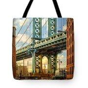 Iconic Manhattan Tote Bag