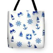 Iconic Nautics Tote Bag