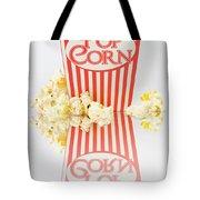 Iconic Striped Popcorn Carton Tote Bag