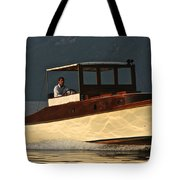 Iconic Wooden Runabout Tote Bag