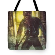 Icons Of Horror Evil Dead Tote Bag