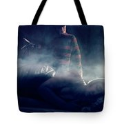 Icons Of Horror Nightmare On Elm Street Tote Bag