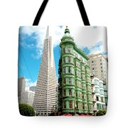 Icons Of San Fran Tote Bag