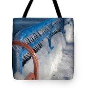 Icy Aftermath Tote Bag