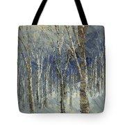Icy Bells Tote Bag