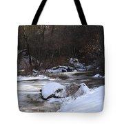 Icy Creek Tote Bag