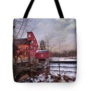 Icy Falls Tote Bag