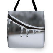 Icy Finger Tote Bag