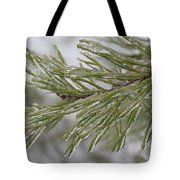 Icy Fingers Of The Pine Tote Bag