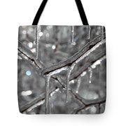Icy Glitters Tote Bag