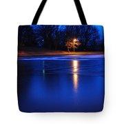 Icy Glow Tote Bag