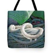 Icy Lines Tote Bag