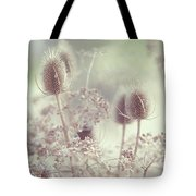 Icy Morning. Wild Grass Tote Bag