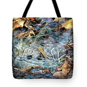Icy Patterns Tote Bag