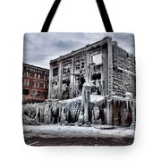 Icy Remains - After The Fire Tote Bag by Jeff Swanson