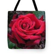 Icy Rose Tote Bag