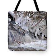 Icy Spring Tote Bag