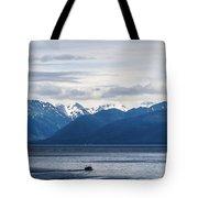 Icy Strait Fishing Tote Bag