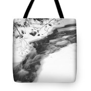 Icy Swath Tote Bag