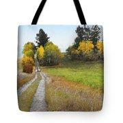Idaho Backroad Autumn Tote Bag