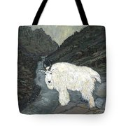 Idaho Mountain Goat Tote Bag