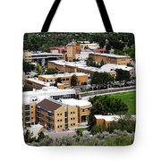 Idaho State University Upper Campus With Holt Arena Tote Bag