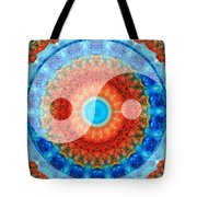 Ideal Balance Yin And Yang By Sharon Cummings Tote Bag