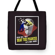 Ideas Will Help Beat The Promise Tote Bag