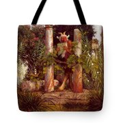 Idyll Pan Amidst Columns 1875 Tote Bag