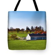 Idyllic Autumn Farm Tote Bag